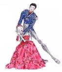 PRINCE GREMIN AND TATIANA, act III: After Ryoichi Hirano and Marianela Nunez
