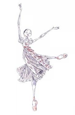 TATIANA, act II: After Natalia Osipova