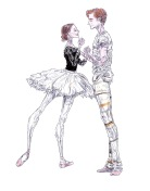 THE AWAKENING OF AURORA (rehearsal), Act II: after Iana Salenko and Steven McRae