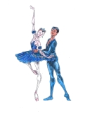PRINCESS FLORINE AND BLUE BIRD PAS DE DEUX, Act III: after Anna Rose O'Sullivan and Marcelino Sambé