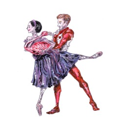 Alice and the Knave of Hearts, Act II: after Sarah Lamb and Steven McRae