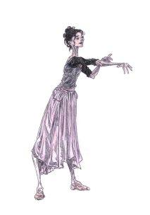 ANNA ANDERSON (rehearsal), Act III: after Natalia Osipova