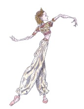 ARABIAN DANCE, Act II: after Melissa Hamilton