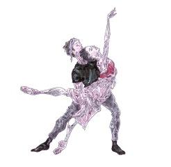 BALCONY PAS DE DEUX (rehearsal), Act II: after Natalia Osipova and Matthew Ball