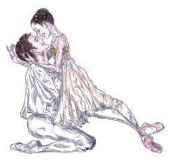 BALCONY PAS DE DEUX, Act II: after Yasmine Naghdi and Matthew Ball