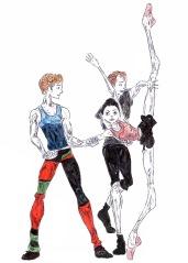 BECOMINGS (rehearsal): after Natalia Osipova, Steven McRae and Edward Watson