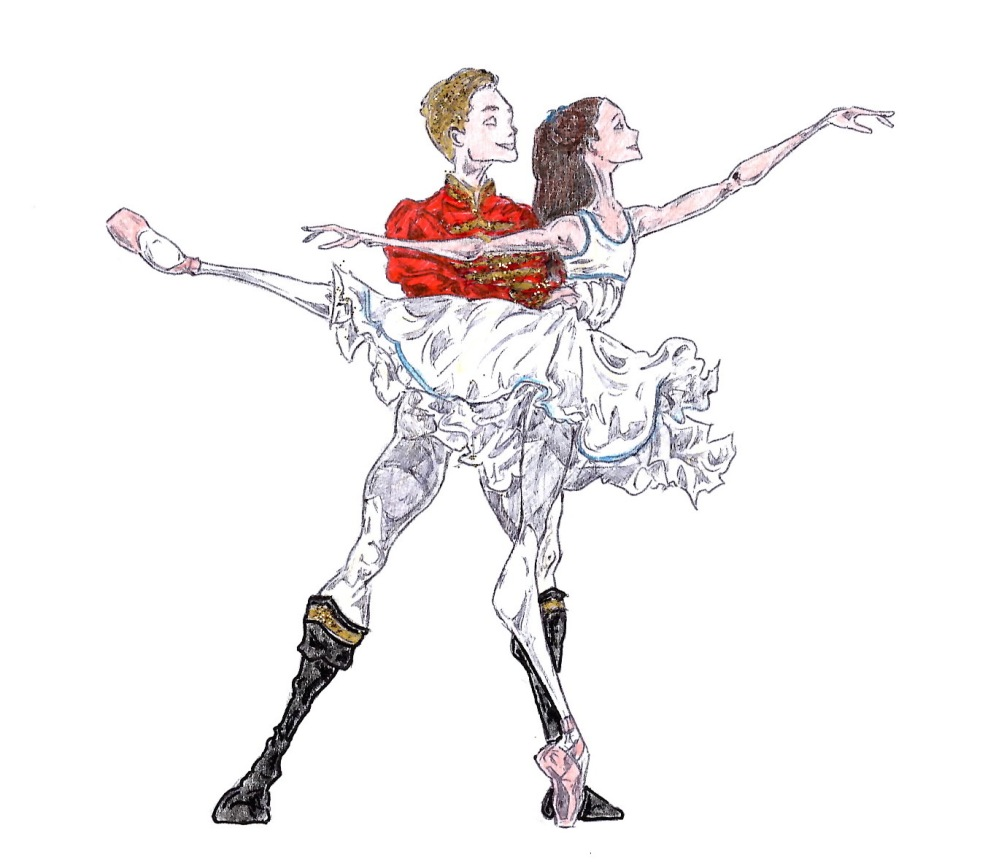 CLARA AND HANS PETER, Act I: after Francesca Hayward and Alexander Campbell