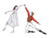 CLARA AND HANS PETER, Act I: after Francesca Hayward and Alexander Campbell