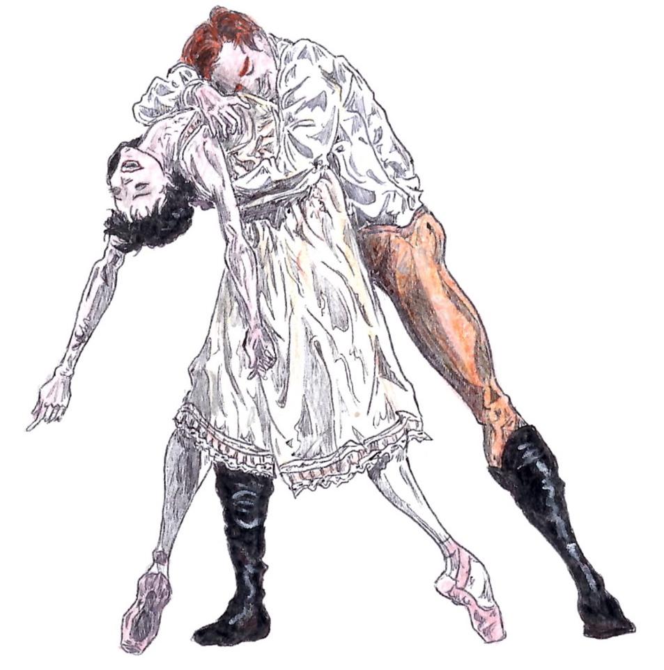 SUICIDE PAS DE DEUX, Act II: after Natalia Osipova and Edward Watson