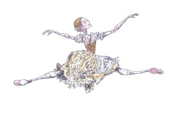 GISELLE, Act I: after Sarah Lamb