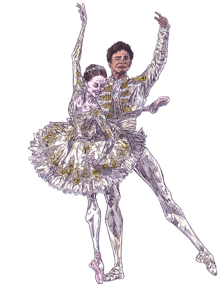 KITRI AND BASIL PAS DE DEUX, Act III: after Marianela Nunez and Carlos Acosta