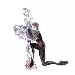 ODETTE AND SIGFRIED PAS DE DEUX, Act IV: after Roberta Marquez and Rupert Pennefather