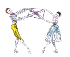 RIBBON PAS DE DEUX, Act I: after Natalia Osipova and Steven McRae