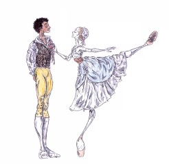 RIBBON PAS DE DEUX, Act I: after Marianela Nunez and Carlos Acosta