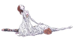 DEATH SCENE (rehearsal), Act III: after Iana Salenko and Steven McRae