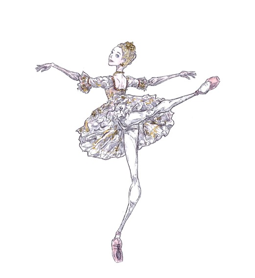 SUGAR PLUM FAIRY, Act II: after Lauren Cuthbertson