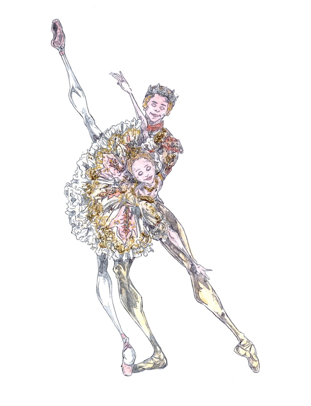 SUGAR PLUM FAIRY AND PRINCE PAS DE DEUX, Act II: after Marianela Nunez and Thiago Soares