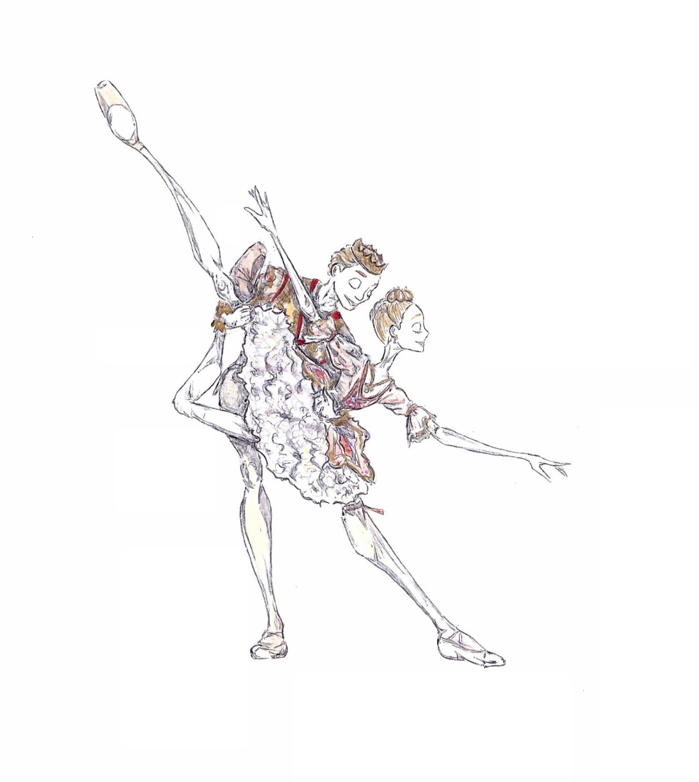 SUGAR PLUM FAIRY AND PRINCE PAS DE DEUX, Act II: after Sarah Lamb and Sergei Polunin