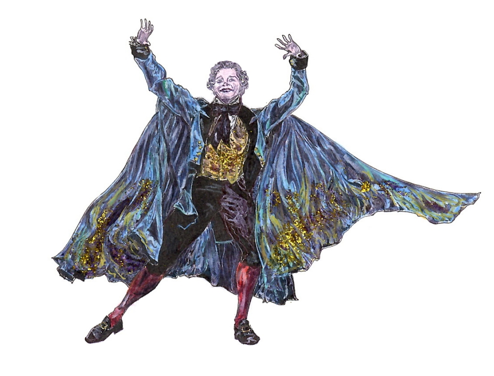 DROSSELMEYER, Act I: after Gary Avis