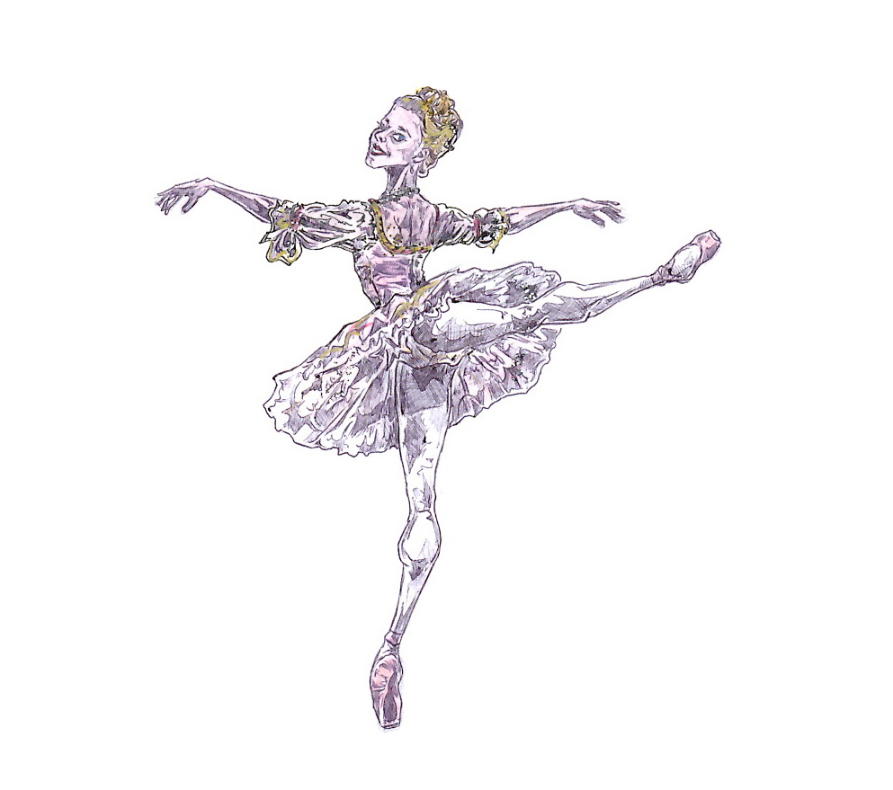 SUGAR PLUM FAIRY, Act II: after Marianela Nunez
