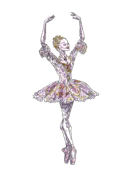 SUGAR PLUM FAIRY, Act II: after Iana Salenko