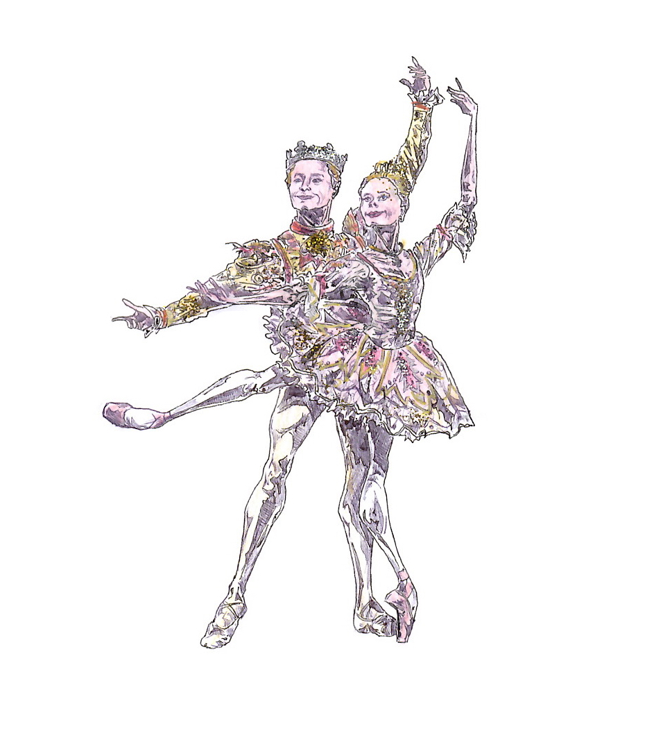SUGAR PLUM FAIRY AND PRINCE PAS DE DEUX, Act II: after Iana Salenko and Steven McRae