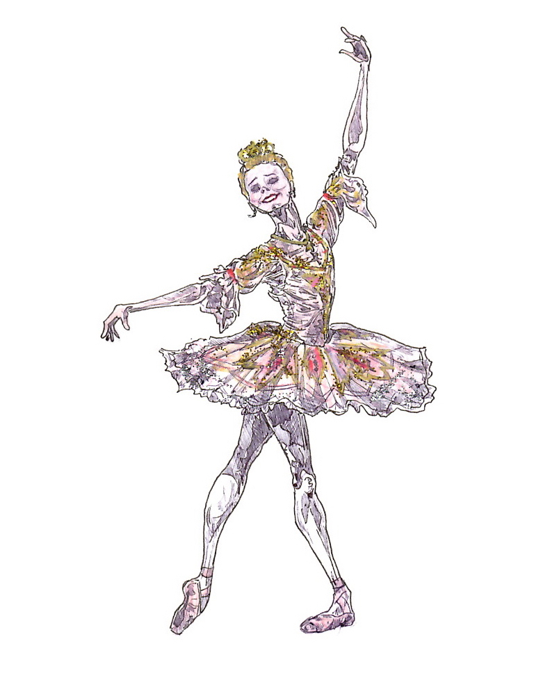SUGAR PLUM FAIRY, Act II: after Sarah Lamb