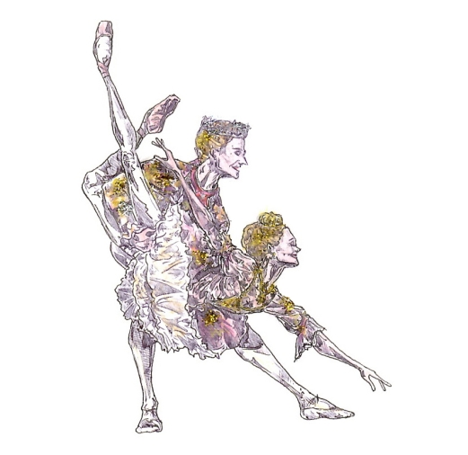SUGAR PLUM FAIRY AND PRINCE PAS DE DEUX, Act II: after Sarah Lamb and Steven McRae
