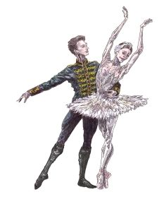 ODETTE AND SIGFRIED PAS DE DEUX, Act II: after Marianela Nunez and Vadim Muntagirov